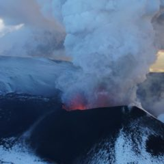 There are 30 active volcanoes in Kamchatka, and some of them are erupting right now!
