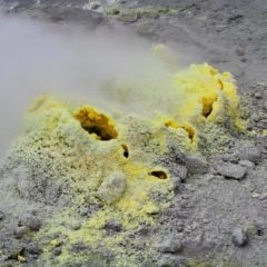 Beauty of fumarole