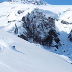 And astonishing skiing on volcano's glaciers