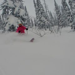 First turns of the day