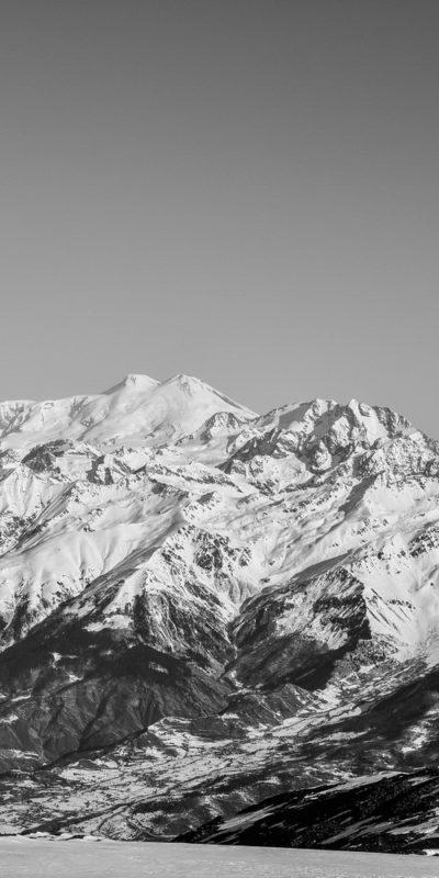 Elbrus mount, the highest peak of the Europe.