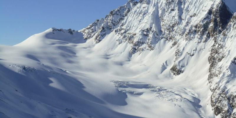 Glaciers of Svanetian range