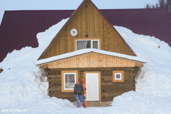 Brand new Luzhba Skitouring Lodge